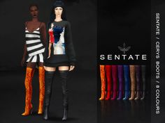 LOVE these boots by Sentate a Featured Artist in TSR! COOOL!