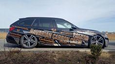 BMW 3 Bavarian Carbon Crew — commercial part wrap design project