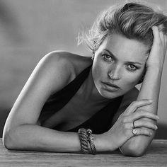 Kate Moss by Peter Lindbergh for David Yurman A/W 2014
