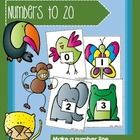 Make a Number Line - Numbers to 20 - Rainforest Animals Set Rainforest Animals, Anzac Day, Place Values, New Zealand, Line, Card Stock, Promotion, Numbers, Amp