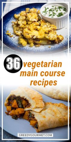 Healthy and less expensive, these vegetarian main course recipes are just as filling as any other meal. Imitate the distinct umami flavors of meat with healthy ingredients like miso or mushrooms. Pick a healthy vegetarian recipe for each day of the week and see for yourself just how easy it is. #vegetarian #maincourse #vegetarianmaincourse #vegetarianrecipes #healthyrecipes #maincourserecipes Veg Recipes, Curry Recipes, Vegetarian Recipes, Cooking Recipes, Healthy Recipes, Gourmet Recipes, 30 Min Meals, Easy Meals, Vegetarian Main Course