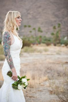 Bride with tattoos gallery (1-50)