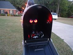 Scare your mailman.