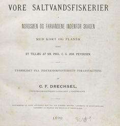 Detaljerede statistiske oplysninger om fiskeriet med åledrivvod findes i C.F. Drechsel, Vore Saltvandsfiskerier, 1890. Den er tilgængelig som pdf-fil fra Det Kongelige Bibliotek http://www.kb.dk/e-mat/dod/130020871513.pdf