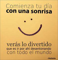 (:  Porque sonreír le agrega vida a los años