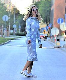 Teplákové šaty Clara Velvet s kapucňou a predĺženým rukávom / ajkadizajn - SAShE.sk - Handmade Šaty Modeling, Cold Shoulder Dress, Dresses, Fashion, Vestidos, Moda, Modeling Photography, Fashion Styles, Models