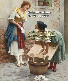 24 Fresh Memes To Kick Start Your Day - Gallery Renaissance Memes, Medieval Memes, Drunk Memes, Funny Memes, Hilarious, Ancient Memes, Memes Arte, Classic Memes, Sweet Memes