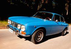 1974 Alfa Romeo 1300 GT Junior For Sale Blue Front