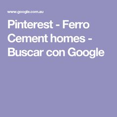 Pinterest - Ferro Cement homes - Buscar con Google
