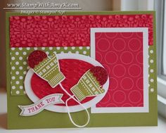 Mitten Thank You by amyk3868 - Cards and Paper Crafts at Splitcoaststampers