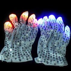 LED Sequin Gloves & LED Gloves   GF Brand