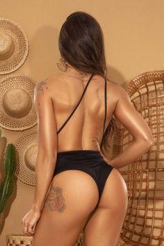 Maiô Amarração 5 em 1 Preto - Donna Carioca - Moda fitness com preço de fábrica
