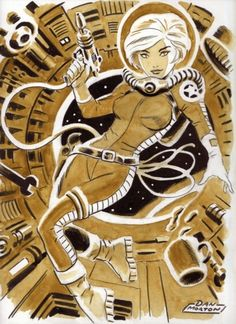 Space Girl - Dan Morton