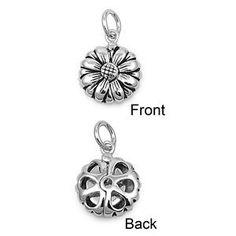 925 Sterling Silver Flower Pendant (Jewelry) http://www.amazon.com/dp/B006ZCVQHS/?tag=pindemons-20 B006ZCVQHS