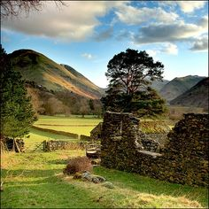 Valley Ruins, Lake District, England