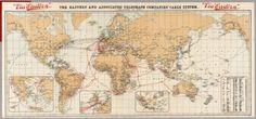 20 Free Vintage Map Printable Images | Remodelaholic.com #art #printable #maps