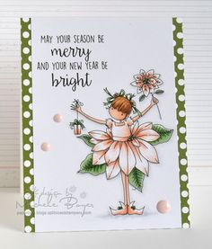 Stamping Bella Tiny Townie Pamela Poinsettia rubber stamp. Click through to read the blog post, and see more peeks and inspiration from the new release. Release Date 3rd Sept 2016.
