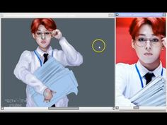 "Park Jimin BTS 방탄소년단 ""Sick"" Fanart (Part 2/2) Coloring"