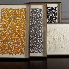 Ethan Allen Towson - Mustard Paper Art - Ethan Allen US