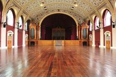 Check out the stunning space at Battersea Arts centre. Theatre Wedding Venue