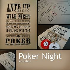 Old west poker night?  Maybe the Dirty Thirty Saloon....