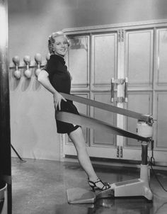 """Slim yourself without unladylike sweat or building dreaded muscles"" was the era's fitness mantra."