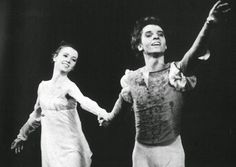 Ib Andersen and Mette-Ida Kirk in Romeo and Juliet
