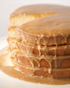 Dolley Madison Layer Cake