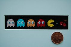 Pacman Crosstitch