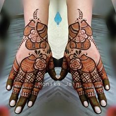New Henna Designs, Latest Arabic Mehndi Designs, Back Hand Mehndi Designs, Stylish Mehndi Designs, Dulhan Mehndi Designs, Wedding Mehndi Designs, Mehndi Designs For Fingers, Latest Mehndi Designs, Bridal Mehndi