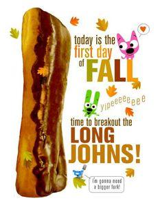 LongJohns! #HoopsandYoyo #Hallmark #Holidays & #Events #Autumn #Fall ...