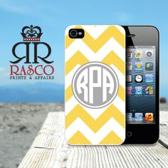 iPhone 4 Case, iPhone 4s Case, Chevron iPhone,
