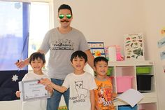 These boys have successfully completed their Kinder Science Summer Program 2015.! http://on.fb.me/1MM2haJ   #science