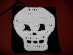 6x6 square for a halloween afghan