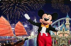Hong Kong Disneyland Postcard