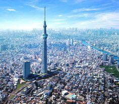 Tokyo Sky Tree (634m)