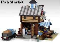 LEGO Ideas - Fish Market