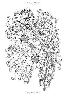 The Girls' Glorious Colouring Book: Delightfully Detailed Designs by Hannah Davies Amazon.co.uk