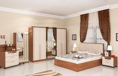 Montana Bedroom Set - Home Decor Bedroom Furniture Inspiration, Modern Bedroom Furniture Sets, Contemporary Bedroom Sets, Italian Bedroom Furniture, Bedroom Set Designs, Bedroom Closet Design, Home Decor Bedroom, Room Color Design, Home Room Design