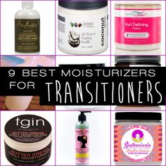 Blogger TheManeObjective is the NaturallyCurly.com resident transitioner. Here are her favorite moisturizers for transitioning hair! They help her manage the two very different textures. http://www.shorthaircutsforblackwomen.com/how-to-transition-from-relaxed-to-natural-hair/