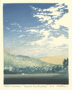Smarts from Pout Pond ~ Woodblock ~ Matt Brown