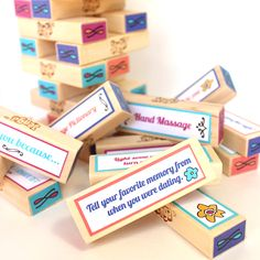 Wanna see how your love stacks up? This Jenga Love Game is sure to spice things up in the bedroom!
