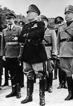 """Benito Mussolini, """"El Duce""""."""