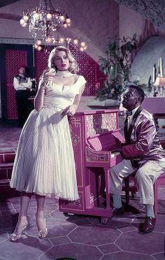 "Anita Ekberg as Katrina Jorgenson in the 1955 TV series ""Casablanca"", photo by Loomis Dean, 1955"