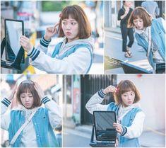 """Lee Sung Kyung quiere lucir bonita en nuevas fotos de """"Weightlifting Fairy Kim Bok Joo"""" via @soompi"""
