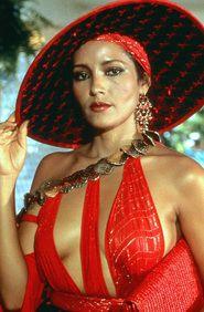 Barbara Carrera in Never Say Never Again (007), 1983.