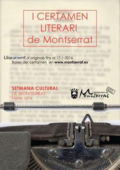 I Certamen literario de Monserrat – #Relato #microrrelatos 400 euros