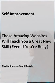 Top 10 Online Resources for Self-improvement that we shouldn't be Ignoring Improve Yourself, Finding Yourself, Self Thought, Amazing Websites, Self Image, Self Development, Lifehacks, Self Improvement, Great Quotes