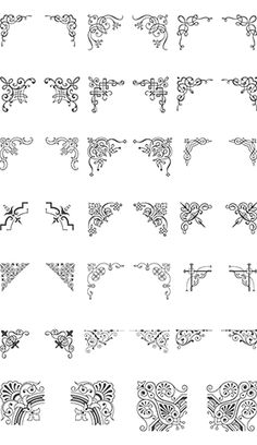 Essential Vintage Vector Pack - 930 vector ornaments, 465 decorative frames, 93 vector illustrations