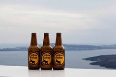Meet Greek Wine, Beer and Spirit Producers on Santorini with DNA Travel - Travel Offers by Greek Travel Pages Kai, Donkey Donkey, Wine And Beer, Brewing Company, Getting Wet, Distillery, Fun Drinks, Hot Sauce Bottles, Santorini